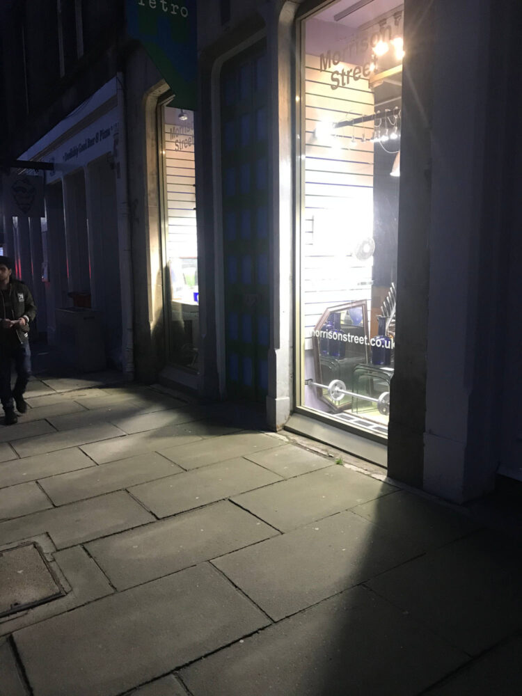 Retro Morrison Street Edinburgh